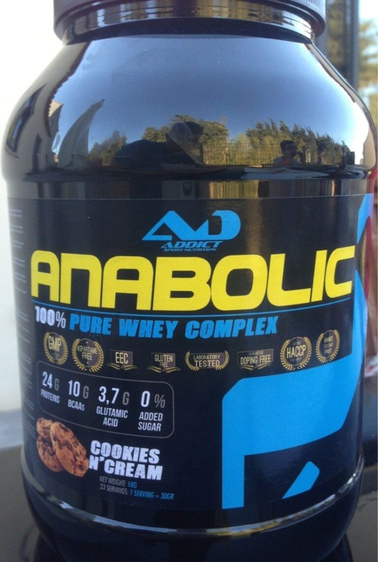What is anabolic oral?
